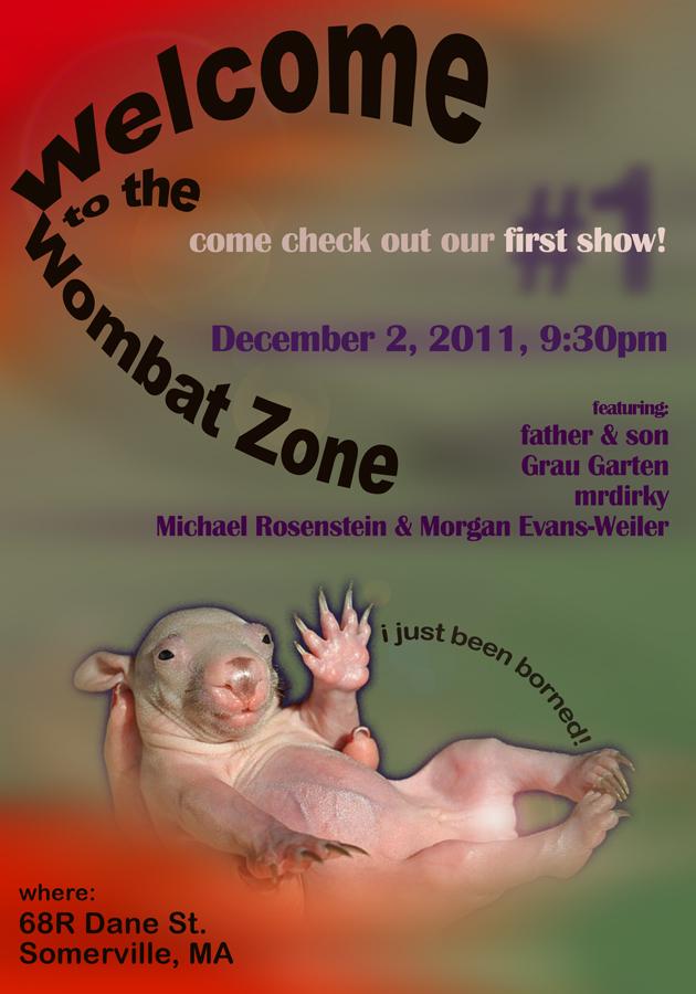 Wombat Zone poster
